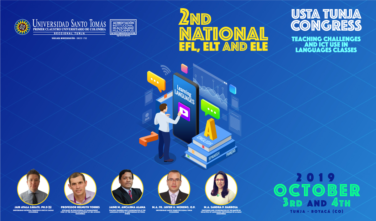 2ND National EFL, ELT and ELE USTA Tunja Congress