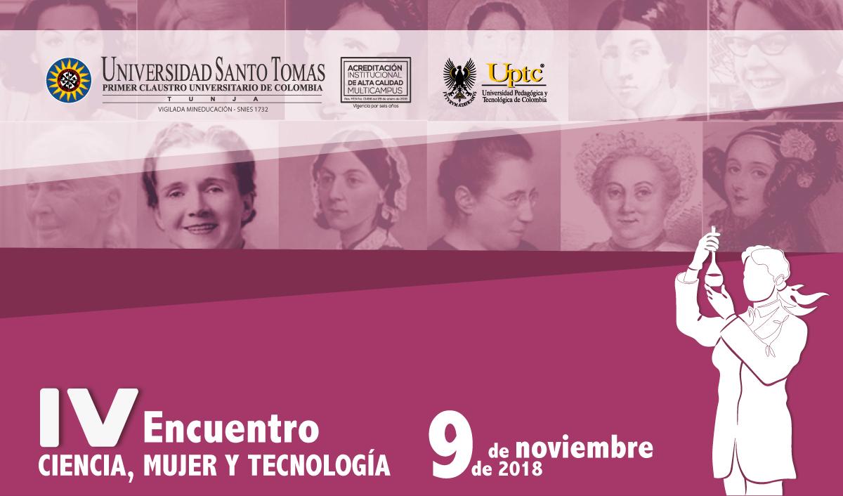 IV Encuentro Ciencia, Mujer y Tecnología