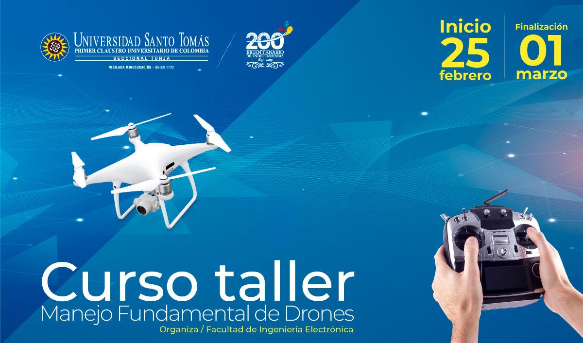 Workshop Course Fundamental Management of Drones