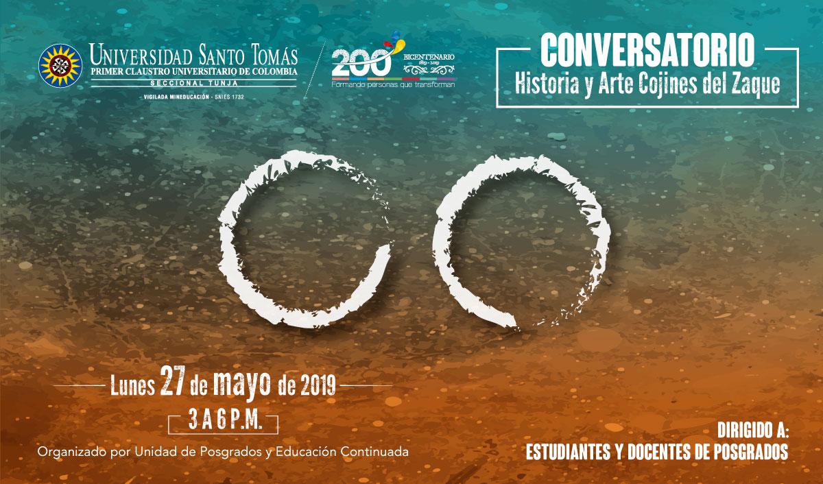 Conversatorio Historia y Arte Cojines del Zaque