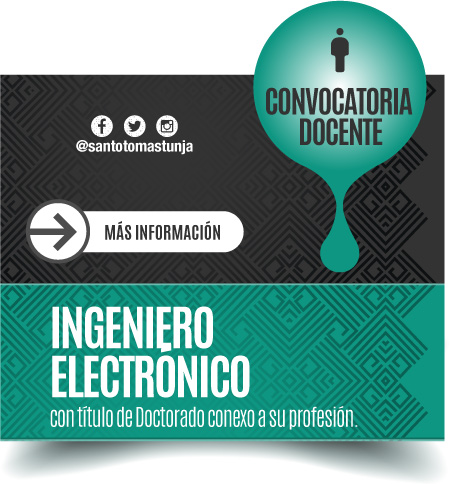 Convocatoria laboral Ingeniero Electronico Doctorado