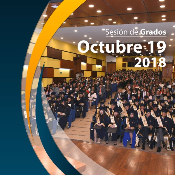 19 October 2018 session - List of Graduates