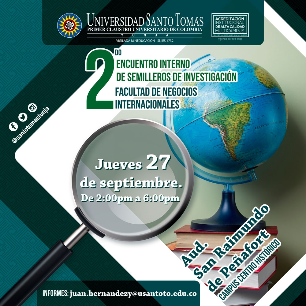 II Internal Encounter of Research Seedlings Faculty of International Business