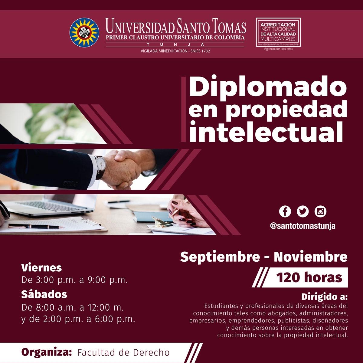 Diplomado en Propiedad Intelectual