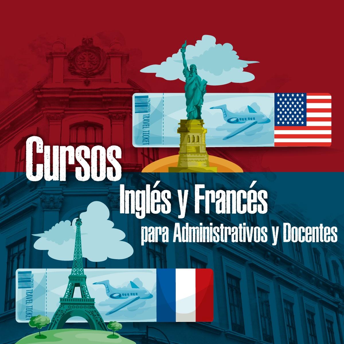 Cursos de Inglés y Francés para Administrativos y Docentes