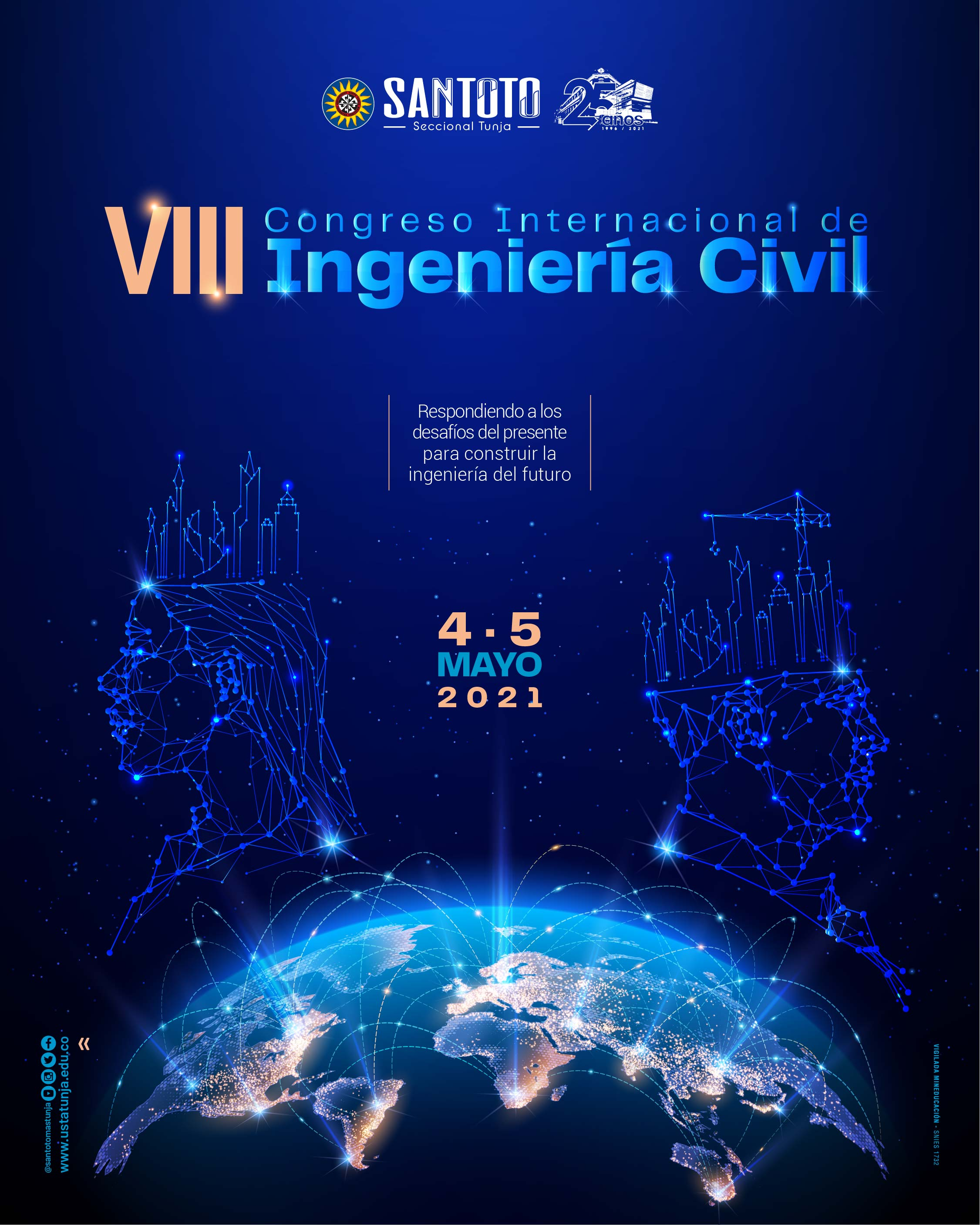 VIII Congreso Internacional de Ingenieria Civil Evento Web post
