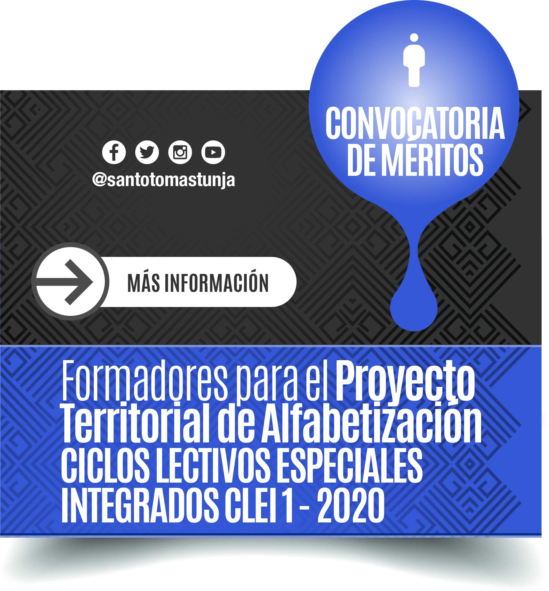 Convocatoria laboral meritos formadores